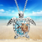 Lots Cartoon Animal Crystal Pendant Necklace Party Jewelry Gift For Women Girls