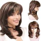 Womens Short Curly Wig Black Blonde Wavy Hair Wig Natural Pexie Cosplay Wigs Hot