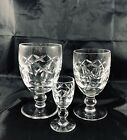 Vintage Marked Waterford Cut Glass Crystal Kerry Older Ball Stem