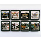 Pokemon Video Game Cartridge Combo Card Black White Heartgold Soulsilver For Nds