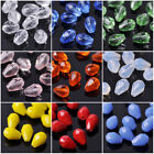 50pcs 7x5mm Small Teardrop Faceted Crystal Glass Losse Beads Bulk Wholesale Lot