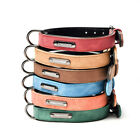 Adjustable Dog Collar Leather Leads Pet Collar Small Medium and Large Dogs Leas*