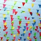 Large+100+METER+Multi+Colour+Banner+Bunting+Party+Home+Garden+Decoration+Banner+