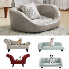 Dog Bed Pet Cushion House Elevated Soft Bed Kennel Cushioned Bed Wooden Legs NEW