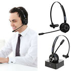 Noise Cancelling Cordless Head-mounted Bluetooth Telephone Headset Earphone