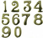 Large Solid Brass stick on Numbers