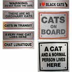 Cat Signs for Owners of Cats