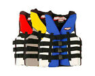 Winning Edge Neoprene Nylon Neo-Nylon Adult Life Jacket Ski Vest XS - 3XL