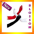 7001 Black Red White Lingerie Opera Costume Long Gloves