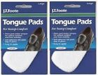 6 FELT TONGUE PADS  ( 3 pair ) Cushion for Shoes Self Adhesive