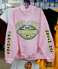 GREEN BAY PACKERS, 2012 Superbowl Champions  PINK HOODIE - -ALL SIZES-