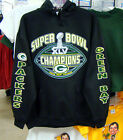 GREEN BAY PACKERS, 2012 Superbowl Champions HOODIE S - HIGH DEFINITION -