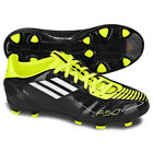 adidas F10 TRX FG 2010 Soccer Shoes U41871 Brand New Black / White / Electricity
