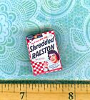 Dollhouse Miniatures  Size Vintage Beauty Movie Star Cereal Box  #LT