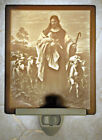 Lithophane Night Light - Good Shepherd - Fine Porcelain