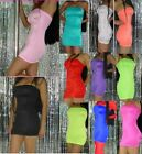 Tube Dress Sexy Neon Blacklight Glow Mini Boob Top Your color & size choice S-XL