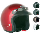SPADA OPEN FACE MOTORCYCLE MOTORBIKE SCOOTER MOPED CITY CRASH ROAD HELMET