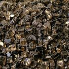 "Bronze Reflective 1/2"" Fireglass Fire Glass Fire Pit Fireplace Glass Crystals"