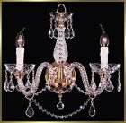 "Crystal Chandelier - VI3261 - 14""W x 14""H - World Class Lighting"