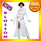 C36 Star Wars Princess Leia Women Fancy Costume XS S M