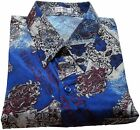 Mens Thai Silk Shirt  / Short - Long Sleeve / S-M-L-XL-XXL-XXXL /  Pattern no.14