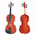 "Mendini Acoustic Viola Size 16"" 15"" 14"" 13"" 12"" ~Wood Black Blue Purple White"