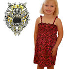 Darkside Clothing Red Leopard Animal Print Glam Baby Toddler Strap Dress
