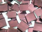 AURORA ROSE MIRROR handcut stained glass mosaic tiles #274
