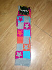 SO GRAPHIC Colorful Glitter Sparkle Knee High SOCKS 80s retro roller derby