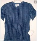 NEW FLAX QUILTED LINEN TEMPERATE Simple Tee / tunic length pic size & color
