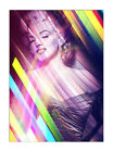 2590 Marilyn Monroe Canvas Framed Movie Icon Wall Art Print