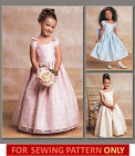 VOGUE SEWING PATTERN! MAKE FLOWER GIRL~1ST COMMUNION DRESS! CHILD 2 TO GIRL 8!