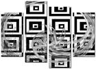 ABSTRACT  CANVAS WALL ART LARGE QUALITY PRINTS CONTEMPORARY DIGITAL AXIS BLACK
