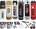 RDX 13 Piece Boxing Set 5ft Filled Heavy Punch Bag,Gloves,Bracket,Chains MMA Pad