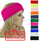 Skiing 80s 90s Bright Fluro Neon Colour Dance Headband Ear Muff Warmer KNITTED
