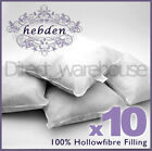 "Pack of 10 Hollow Fibre Cushion Pads - sizes from 12"" to 20"""