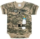 INFANT ONE PIECE BODY SUIT ACU DIGITAL CAMO LITTLE SOLDIER ROTHCO 67096