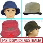 1 Kid Child Boy Toddler Bucket Cotton Sun Wide Brim Hat Cap