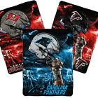 "Royal Plush Raschel NFL Team Large Blankets 60""X80"" - Support Your Favorite Team"
