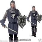 C149 Mens Valiant Medieval Knight Renaissance Fancy Dress Adult Costume