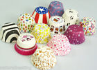 180 Assorted Patterned Cupcake Muffin Paper Cases Liners Baking Cake 50mm Base
