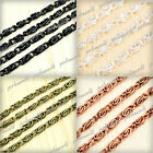 wow!! Iron Curb Unfinished Chains 9.3x2.9mm 2M/6M/10M Wholesale F Necklace CH137