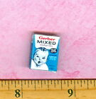 Dollhouse MINIATURE  size Vintage Baby Cereal Mixed Box