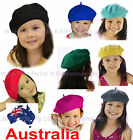 Kid Toddler Child French Wool Dance Party School International Day Cap Hat BERET