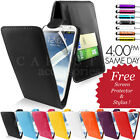 NEW LEATHER FLIP CASE COVER FITS SAMSUNG GALAXY NOTE 2 N7100