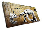 2353 Banksy Canvas I am Your Father Modern Graffiti Wall Art Print