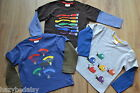 Mini Boden boys cotton long sleeve applique top t-shirt age 2-14  v. cool!