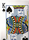 GIGANTIC PLAYING CARD 15X10inch 37X26cm MANY USES PLACE MAT MAGIC TRICK ILLUSION