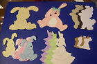 Bunny Rabbit Bunnies Die Cuts & Toppers, Assorted Designs & Quantity's 2 choose