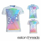 NEW Mens Crosshatch Branded T-Shirt Tee Printed Crew Neck Top Size S M L XL XXL